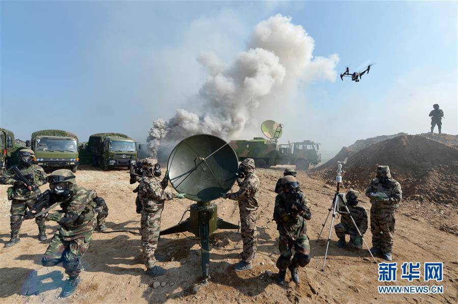 (新华全媒头条·图文互动)(9)中国军队2019:强军兴军再出发